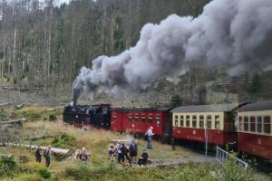 Brockenbahn und Brocken