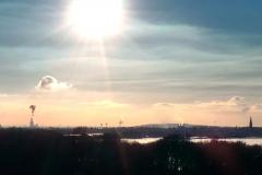 Blick von Horneburg nach RE